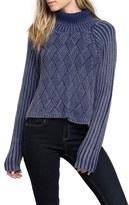 RVCA Women's Mate Check Turtleneck Sweater