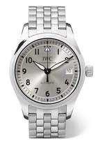 IWC SCHAFFHAUSEN Pilot's Automatic 36 Stainless Steel Watch - Silver