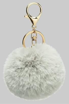Faux Fur Keychain