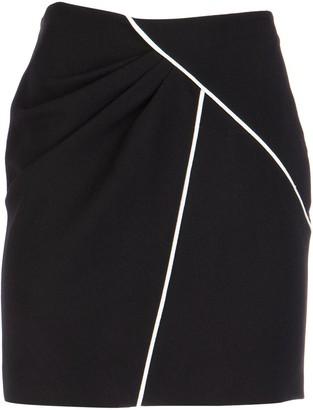 Givenchy Crepe Mini Skirt