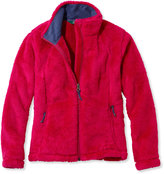 L.L. Bean Girls High-Pile Fleece Jacket