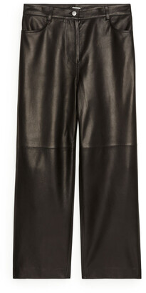 Arket Leather Trousers