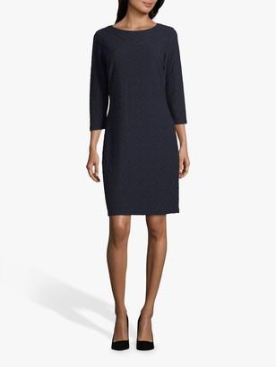 Betty Barclay Textured Mini Dress, Dark Sky