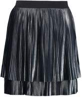 Tom Tailor SKIRT Pleated skirt dark blue