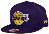 New Era Men's Hat LA Lakers Kobe Bryant Retirement Collection Jersey 9Fifty Cap