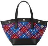 Mulberry Camden tartan shopper bag