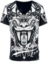 Philipp Plein embellished T-shirt - men - Cotton - L