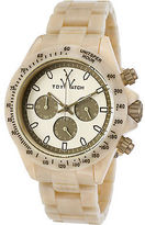 Toy Watch ToyWatch FLE08HR Unisex Fluo Chrono Beige Plasteramic, Dial and Case Olive