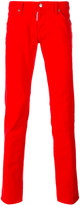 DSQUARED2 straight leg jeans - men - Cotton/Spandex/Elastane - 48