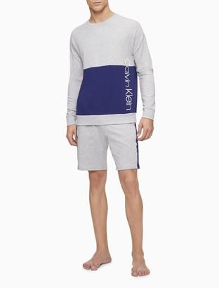 Calvin Klein Pieced Lounge Crewneck Sweatshirt