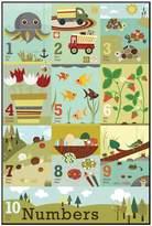 Art.com ''Counting to Ten'' Wall Art
