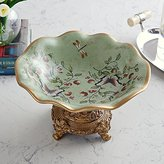 WQWQ European Style Living Room Table Decoration Ornaments Home Furnishing Fruit Plate Ceramic Plate