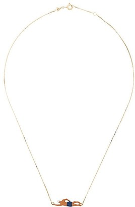 ALIITA 9kt Gold Swimmer Necklace