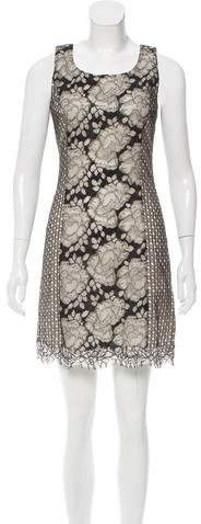 Andrew Gn Sleeveless Lace Dress