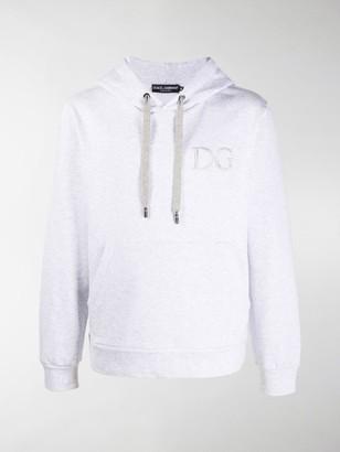 Dolce & Gabbana Embroidered Chest Logo Hoodie