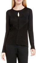 Vince Camuto Keyhole Sweater (Regular & Petite)