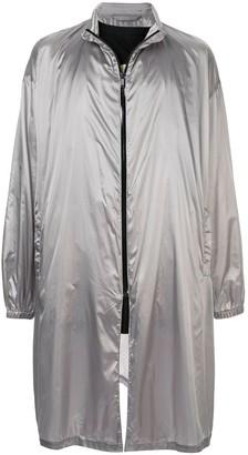 Raf Simons Metallic Raincoat