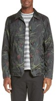 Paul Smith Men's Dark Tropical Woven Work Jacket