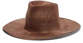 Reinhard Plank Hats - Nana Ramie-straw Hat - Brown