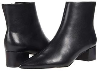 Massimo Matteo Side Zip Bootie (Black) Women's Shoes