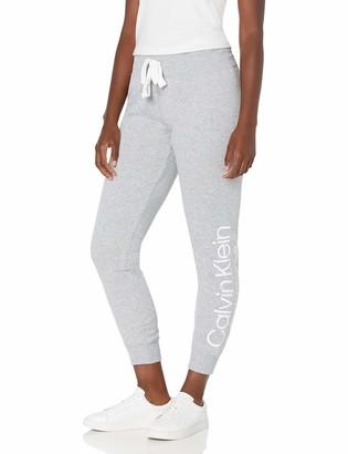 Calvin Klein Women's Misses Convergence Print Crop Legging