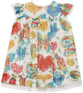 Gucci Baby Corsage print cotton dress