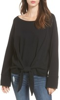 BP Women's Tie Front Pullover