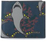 Furla Marte Shark Printed Leather Wallet