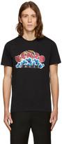 Kenzo Black Popcorn Logo T-Shirt