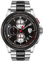 Ferrari mens Scuderia Analog Dress Quartz Watch (Imported) 0830329