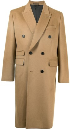SONGZIO Double-Breasted Cashmere-Wool Coat