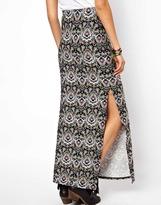 Asos Maxi Skirt in Paisley Print
