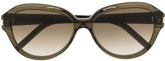 Saint Laurent Eyewear SL400 round frame sunglasses