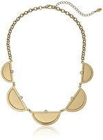 Kensie Half Moon Frontal Necklace