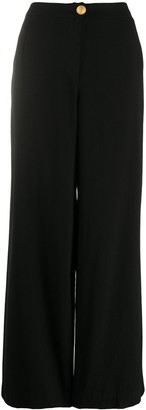Chanel Pre Owned 1998 High-Waist Wide-Leg Trousers