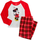 Briefly Stated Minnie Mouse Pajama Set, Big Girls (Size 4-10)