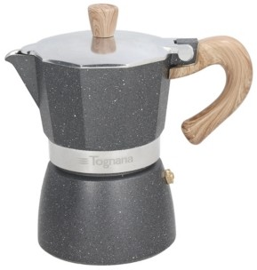 Tognana Wood and Stone Style 3 Cup Coffee Maker