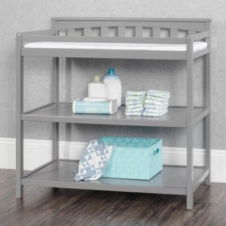 Child Craft London Flat Top Changing Table Color: Cool Gray