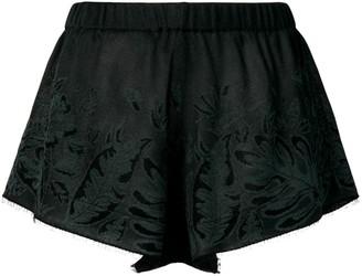 Alanui Hawaiian Dream Knitted Shorts