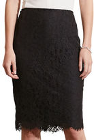 Lauren Ralph Lauren Petite Lace Pencil Skirt