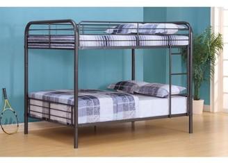 ACME Furniture ACME Bristol Bunk Bed (Full/Full) in Gunmetal Metal