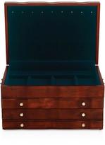 Reed & Barton Athena Cherry Finish Jewelry Box