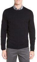 Nordstrom Cotton & Cashmere Crewneck Sweater (Regular & Tall)