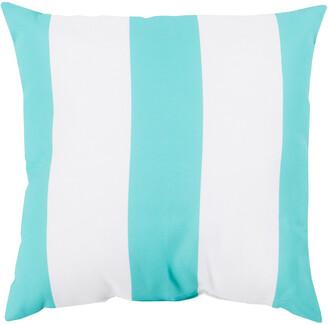 Surya Stripes Indoor/Outdoor Decorative Pillow