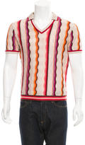Missoni Striped Polo Sweater