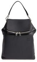 Loewe Goya Calfskin Leather Backpack - Black