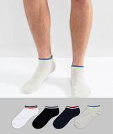Jack and Jones Trainer Socks 4 Pack