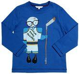 Little Marc Jacobs Hockey Player Cotton Jersey T-Shirt
