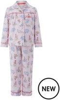 Monsoon Laila London Print Flannel Pyjamas