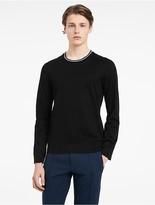 Calvin Klein Platinum Mercerized Pima Cotton Long Sleeve Shirt